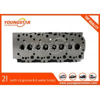 Cheap Toyota 2L Cylinder Head Assy With Oil Groove And With Six Water Holes for sale