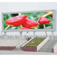 China Outdoor full color led sign on sale