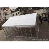 Cheap Small Transparent Glass Wall Custom Event Tents , Corporate Event Tent wholesale