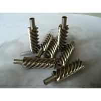 Cheap Steel alloy and brass precision helical worm gear for reducer for sale