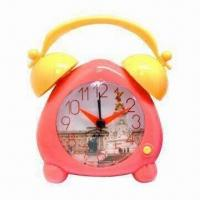 Cheap Twin Bell Desk/Alarm Clock, Suitable for Home Decoration for sale