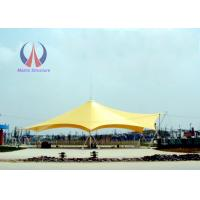Cheap Light Steel Tube Support Tension Fabric Buildings For Tensile Structure Systems for sale