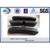 Quality High Friction Coefficient Rubber Synthetic Resin Railway Brake Blocks For Train And Wagon wholesale