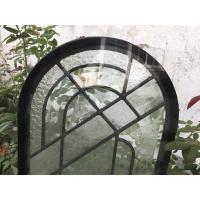 China Round Top Architectural Decorative Panel Glass , Solid Flat Tempered Glass Panels on sale