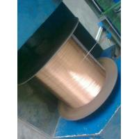Buy cheap 40% IACS 0.58mm Copper Clad Steel Wire, ASTM B452 from wholesalers
