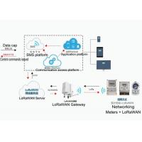 Cheap LoRaWAN Intelligent Meter Reading System Billing / Collection / Accounting Management for sale