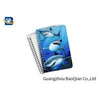 Cheap Decorative 3D Flip Effect Lenticular Notebook For Shark A1 / A2 / A3 Custom Size for sale