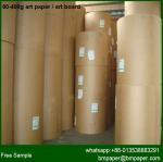 Cheap c2s coated 170gsm 200gsm 250gram Gloss Art Paper / art card for sale