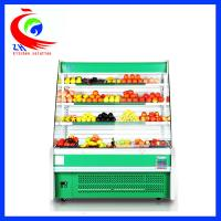 Cheap Curved Glass Refrigeration Equipment Restaurant Style Refrigerator for sale