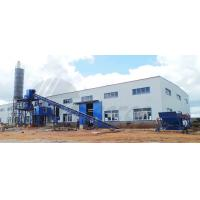 Cheap Industrial Concrete Batch Mix Plant 1200KG High Power For Stirring Mill for sale