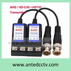Cheap CCTV Video balun AHD, HD-TVI, HD-CVI, Single channel CCTV UTP Balun HD Transmitter Cat5 Twisted Pair 450-750m for sale