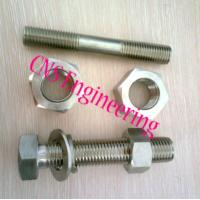 Cheap stainless steel B8 B8M stud bolts with heavy nuts for sale