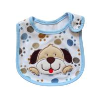 Lovely Dog Cute Baby Bibs / Cotton Baby Bibs with Custom Logo