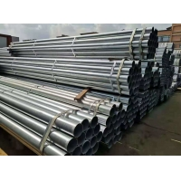 China SS400 DN40 0.4mm Thickness Welded Steel Tube on sale
