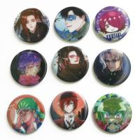 Cheap Perfect Binding 3D Lenticular Printing Service 3D Lenticular Badges Tin 35mm Button for sale