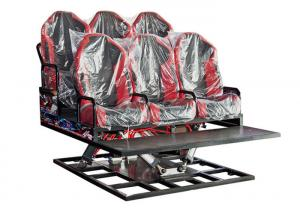 Cheap Hydraulic / Electric System 5D 7D Cinema Simulator Gaming Machine with Motion Chairs for sale