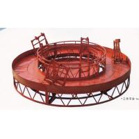 Cheap Red Rounded Lifting Powered High Working Rope Suspended Platform for Building Maintenance wholesale