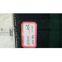 Cheap One Sided Green Tartan Fabric20% Wool , Scottish Plaid FabricWith Horizontal / Vertical Line for sale