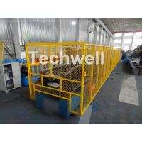 Cheap CZ Purlin Roll Forming Machine With Pre-punching & Pre-cutting For Mesh Guards Covered for sale