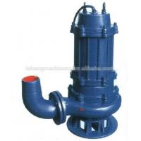China WQ water pump for dirty water,non-clog submersible water pump on sale