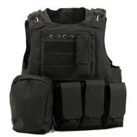 China Police Tactical Vest Molle Gear Swat Black Tactical Vest For Hunting on sale