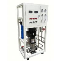 China Industrial Water Purification Systems With Powder Coated Steel Rack on sale