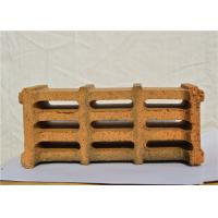 China Light Yellow Color Fireproof Clay Bricks Good Thermal Shock Resistance on sale