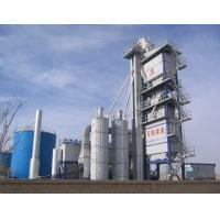 Cheap Accurate Dosing Asphalt Batching Plant 120T Finished Product Bin Placed Under Mixer for sale