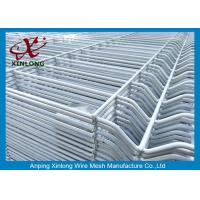 Cheap Easily Assembled,Eco Friendly   PVC coated  fence and  garden wire mesh fence for sale