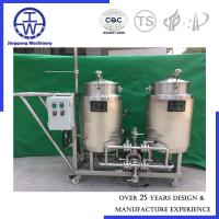 Cheap Automatic Clean In Place Equipment , CIP System With Pump Valve Water Tank for sale