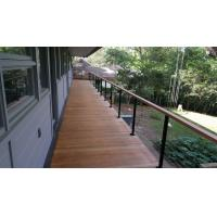 Cheap Building stainless steel balcony wire / cable railing for staircase design for sale