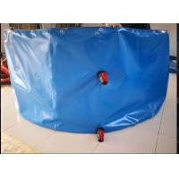 Cheap Round Shape Collapsible PVC Coated Fish Pond Tank Material Tarpaulin Cover for sale