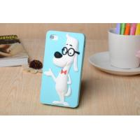 Cheap The new creative genius glasses dog silica gel protective sleeve Apple following for sale