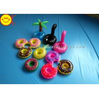 Buy cheap Drink Holders Inflatable Water Floats Animal / Fruit Styles Floating Pool from wholesalers