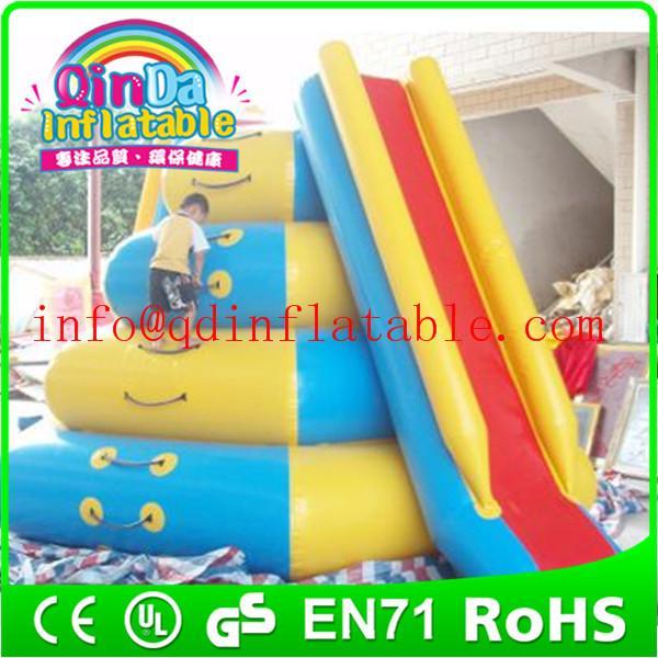 Inflatable Water Slide Usa: Giant QinDa Inflatable Water Slide For Sea Lake Pool