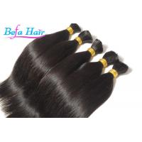 Cheap Indian Silk Straight 100% Human Hair Bulk 22 or 24 inch hair extensions Bulks for sale
