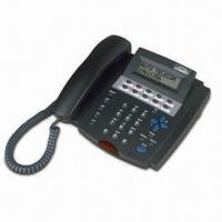 Cheap 32 Characters LCD Digital Phone with Multifunctional Feature for sale
