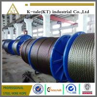 Cheap galvanized steel wire rope used in electric hoist with good quality for sale