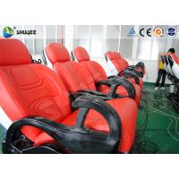 Cheap 6 Dof Mobile Theater Chair , 4d Cinema Custom Motion Control System for sale