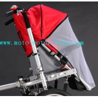 Cheap Red Bed Nets Baby Stroller Bike With Disk Brakes On Both Wheels for sale