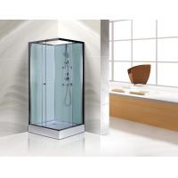 Cheap Free Standing Square Corner Shower Stall Kits SGS ISO9001 Certification for sale