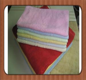 hot sale custom Wholesale high quality plain dyed bleach cheap 100% cotton face towel