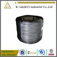 Cheap High Tension Hot Dip 2mm Galvanized Steel Wire high carbon steel wire for sale