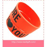 Cheap new fashion silicone arm band,1 inch silicon wrist bands for sale