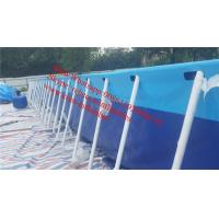 Cheap rectangular above ground swimming pool canvas swimming pool outdoor swimming pool desgins for sale