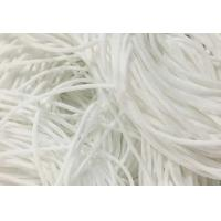 Cheap Eco Friendly Round Stretchy Elastic String Cotton Material High Tenacity for sale