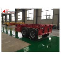 China Skeleton Terminal Shipping Container Chassis on sale
