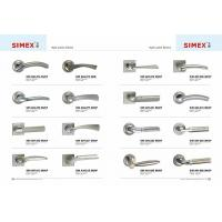 Cheap SIMEX Zinc Alloy Split Locks with MAB,MCF,MAC,SN/CP,KG,SN,SS,CP finish for sale