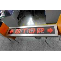 Buy cheap factory programmable led car message sign display FOLLOW ME display from wholesalers
