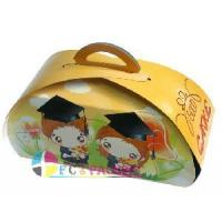 Cheap Cardboard Gift Box with Handle (FC-GPB-07) for sale